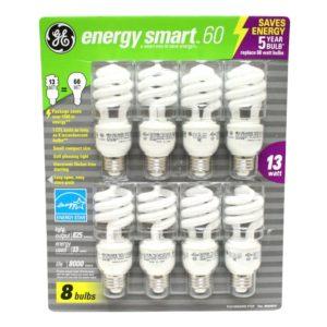 GE Energy-Efficient Bulbs