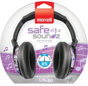 Maxell Safe Soundz Overear Headphones