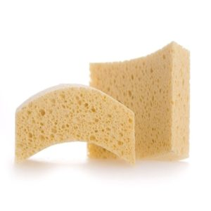 Kitchen King Dish Scoop Sponge Natural Cellulose