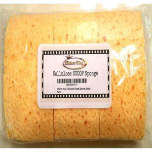 Kitchen King Dish Scoop Sponge Natural Cellulose