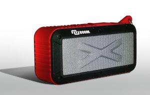Nunet Solar/Battery Powered 2x3W Bluetooth Speaker