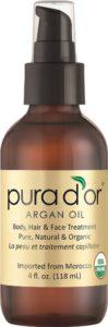 PURA D'OR Moroccan Argan Oil 100% Pure