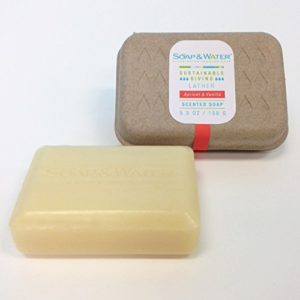 Soap & Water Apricot & Vanilla Aromatherapy Natural Bar Soap