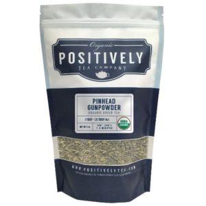 Positively Tea Organic Pinhead Gunpowder Green Te