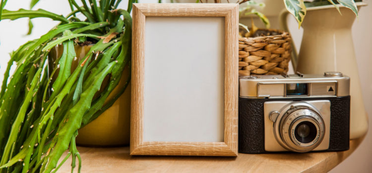 Picture Frame Made Of Recycled Materials For Beautiful Eco-friendly Memories
