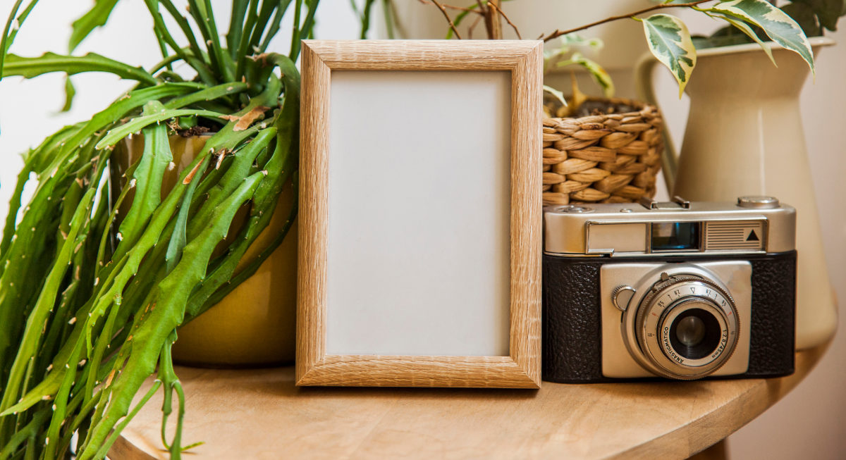 Picture Frame Made Of Recycled Materials For Eco-friendly Memories