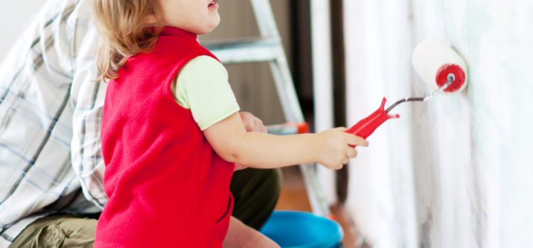 Child-friendly Paint For Walls For A Safe And Cosy Room