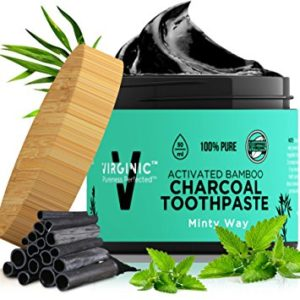 Brushing Teeth With Charcoal Powder - Whiten Up Your Smile